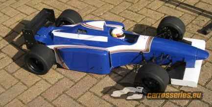 carrosserie ech 1/4 williams renault