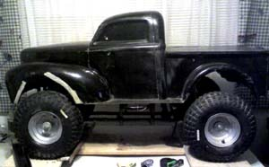ford willys pickup echelle 1/4