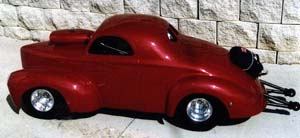 ford willys 1941 echelle 1/4