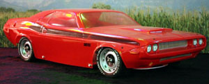 dodge challenger 1/5 body