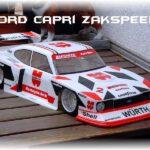 carrosserie 1:5 ford capri zakspeed wurth
