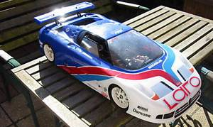 carrosserie echelle 1/5 bugatti eb 110 laro 535mm