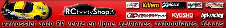RCbodyShop fabrication et vente carrosseries auto RC