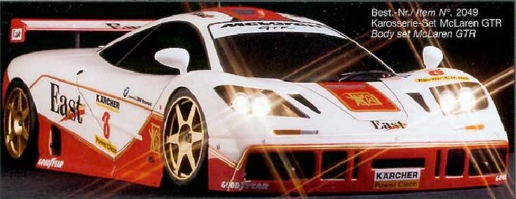 carrosserie 1/5 FG Mclaren F1 GTR