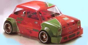 carrosserie austin mini 1:4 1:5 lauterbacher