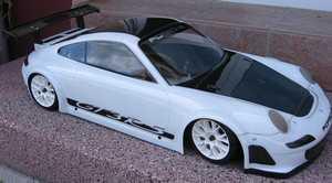 porsche 911 997 GT3 RS 1/5 carrosserie