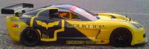 corvette C6 R Killam Frank 1/5 body