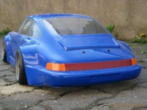 carrosserie porsche 1/5 bleue