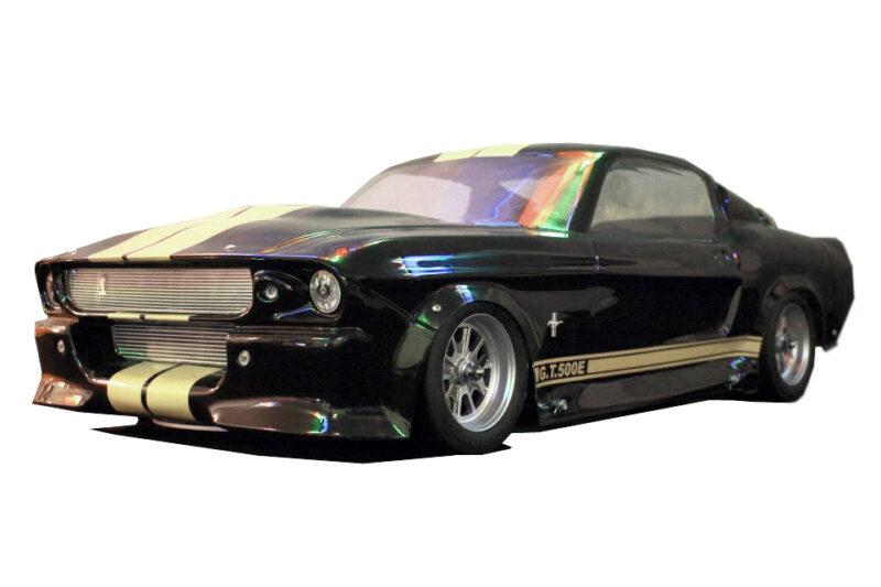 carrosserie lexan 1:5 IQP racing pony bullit mustang gt 500