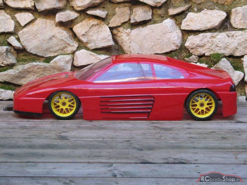 carrosserie 1/5 Bycmo ferrari 348 gtb