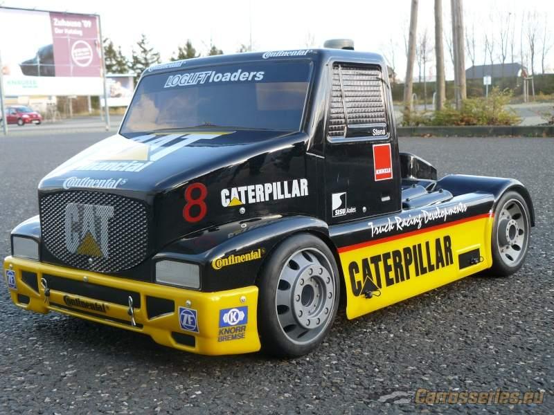 fg caterpillar 1:6 truck bodyshell